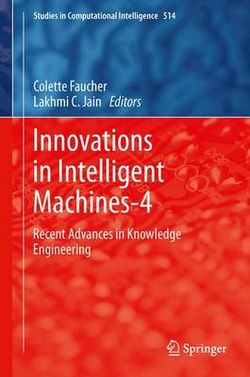 Innovations in Intelligent Machines-4