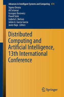 Distributed Computing and Artificial Intelligence, 13th International Conference