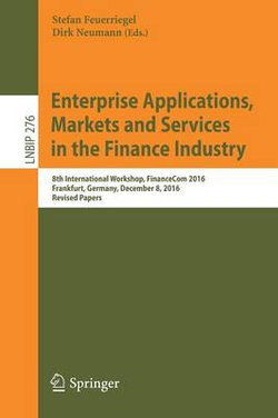 Enterprise Applications, Markets and Services in the Finance Industry