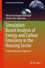 Simulation-Based Analysis of Energy and Carbon Emissions in the Housing Sector