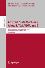 Abstract State Machines, Alloy, B, TLA, VDM, and Z