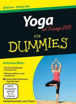 Yoga fur Dummies mit Video-DVD