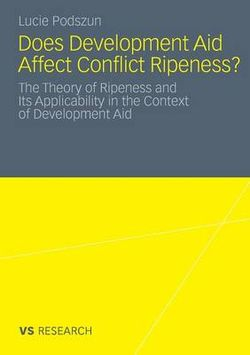 Does Development Aid Affect Conflict Ripeness? 2011