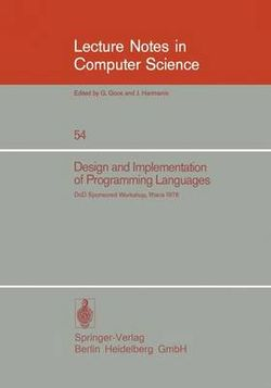 Design and Implementation of Programming Languages