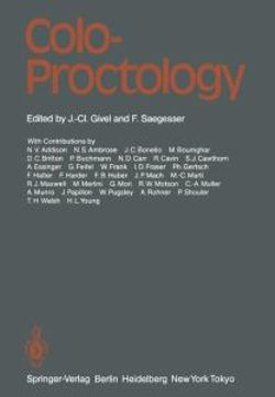 coloproctology a practical guide