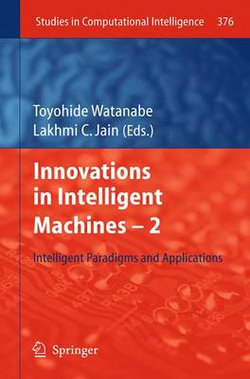 Innovations in Intelligent Machines -2