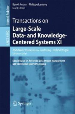 Transactions on Large-Scale Data- and Knowledge-Centered Systems XI