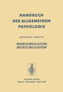 Mikrozirkulation / Microcirculation