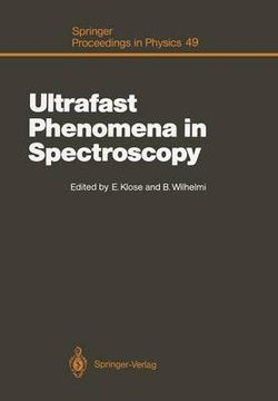 Ultrafast Phenomena in Spectroscopy