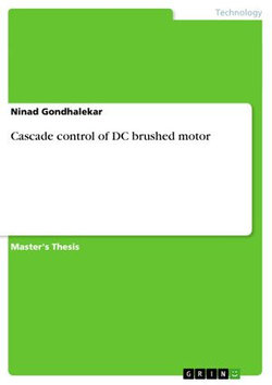 Cascade control of DC brushed motor