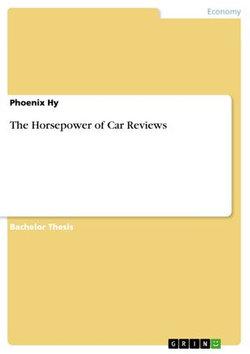 The Horsepower of Car Reviews