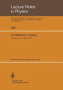 Lie Methods in Optics