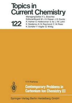 Contemporary Problems in Carbonium Ion Chemistry III