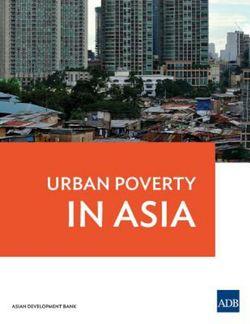Urban Poverty in Asia