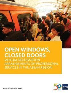 Open Windows, Closed Doors