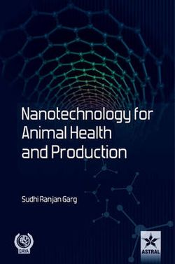 Nanotechnology for Animal Health and Production