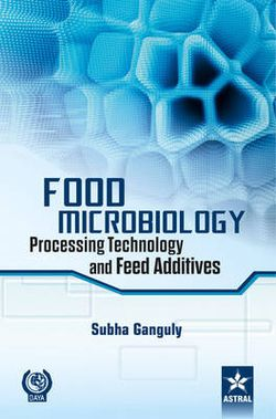 Food Microbiology: Processing Technology and Feed Additives