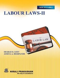 Labour Laws II