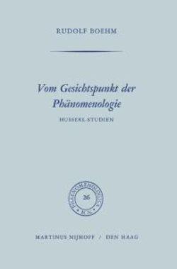 Vom Gesichtspunkt der Phanomenologie