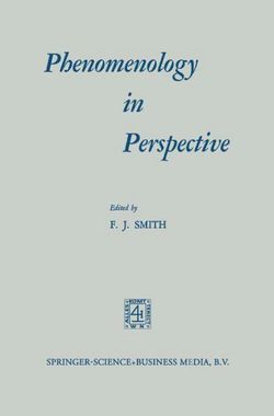 Phenomenology in Perspective