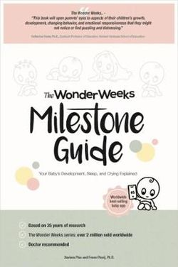 The Wonder Weeks Milestone Guide