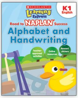 Alphabet and Handwriting K1