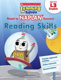 Road to NAPLAN Success