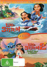 Lilo & Stitch / Lilo & Stitch 2: Stitch Has a Glitch (2 Full-Length Disney Movies)