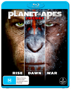 Planet of the Apes Trilogy (Rise of the Planet of the Apes / Dawn of the Planet of the Apes / War for the Planet of the Apes)