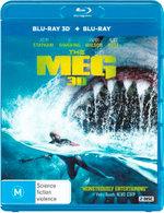 The Meg 3D (Blu-ray 3D/Blu-ray)