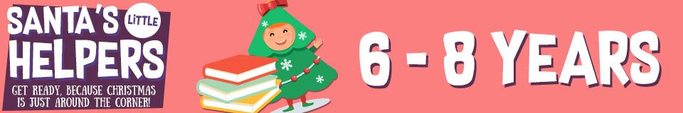 Santa's Little Helpers 6- 8 Years