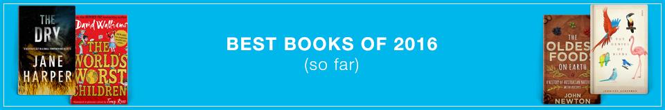 Best Books of 2016 (so far)