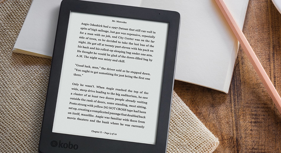 Compact and Comfortable Kobo Aura
