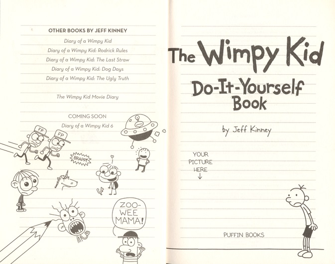 Do it yourself volume 2 diary of a wimpy kid by jeff kinney angus look inside click to expand contents solutioingenieria Images
