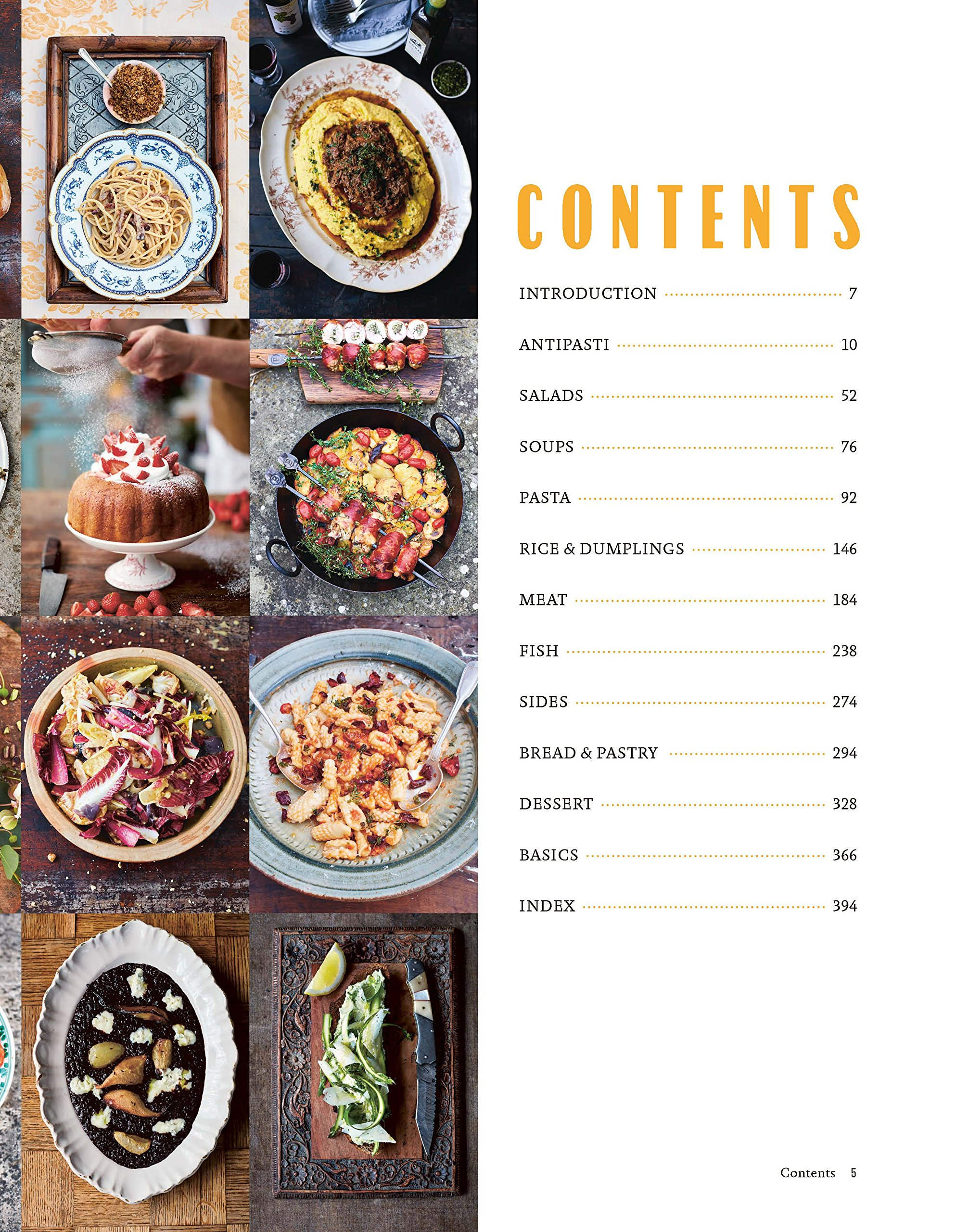 Jamie cooks italy by jamie oliver angus robertson books look inside click to expand contents forumfinder Choice Image