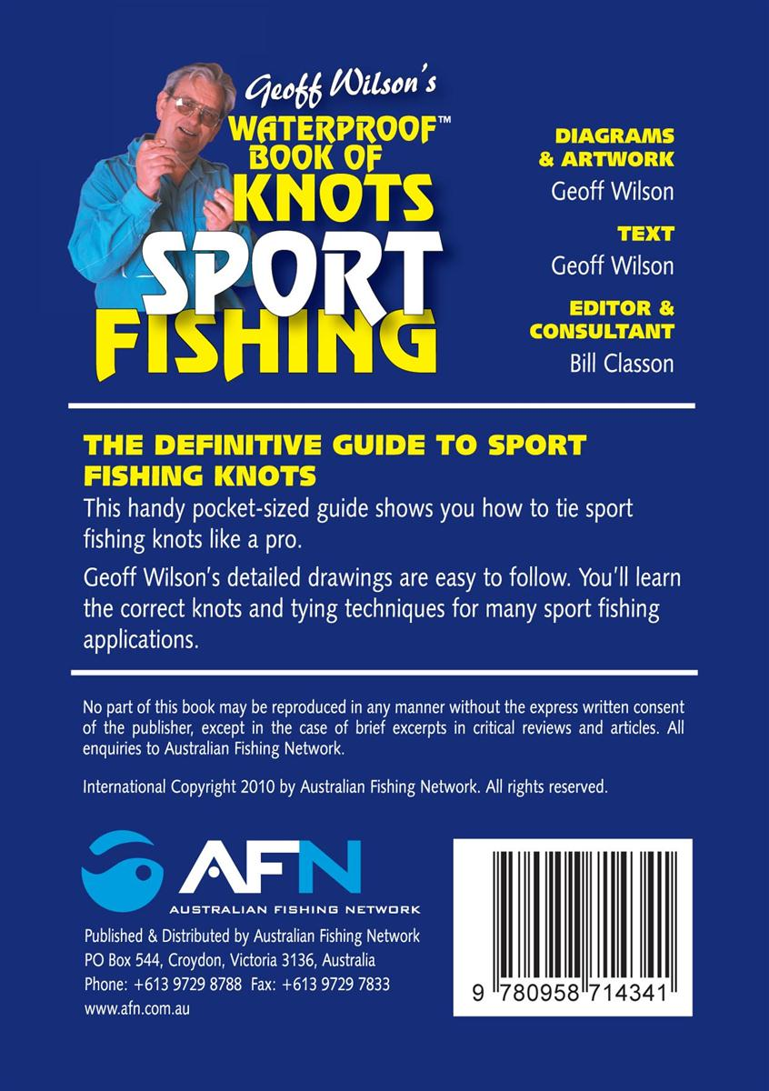 Geoff Wilsons Waterproof Book Of Knots Sport Fishing By Diagrams Look Inside Click To Expand Contents