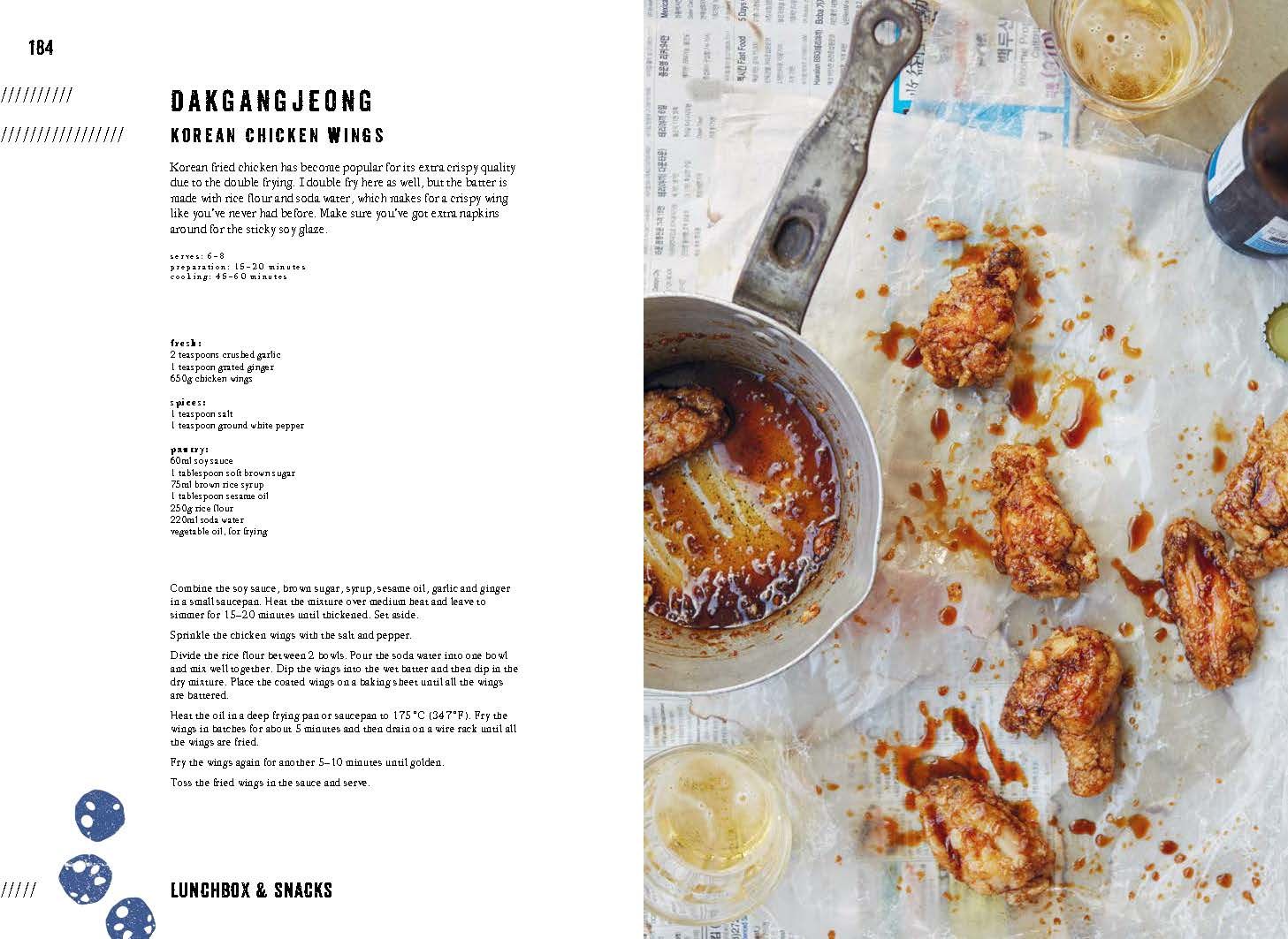 Korean food made easy by caroline hwang angus robertson books look inside click to expand contents forumfinder Image collections