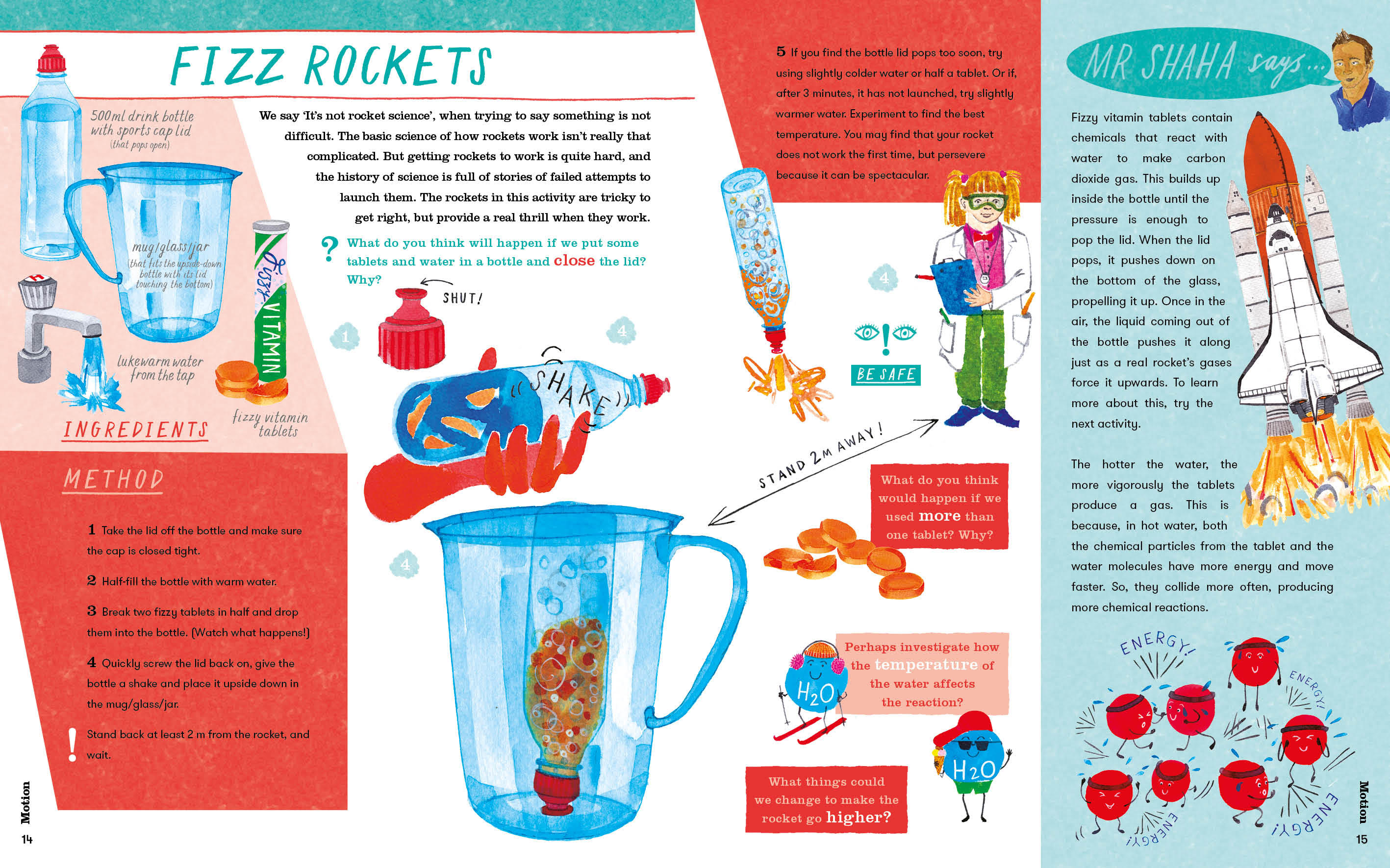 Mr Shaha's Recipes for Wonder: Adventures in Science Round